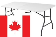 6' Camping/Picnic Folding Table, Indoor/Outdoor