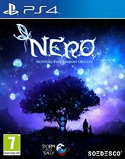 Sony ps4 PlayStation 4 juego * n.e.r.o. Nero nothing ever remains obscure *** nuevo