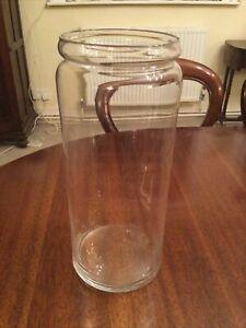 Large Glass Cylinder Orchid Vase