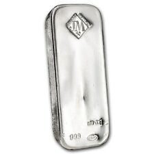SPECIAL PRICE! 100 oz Silver Bar - Johnson Matthey - SKU #87716