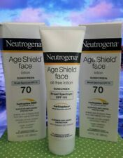 NEUTROGENA Age Shield Face Oil-Free Lotion Sunscreen 2- SPF 70 - 1- SPF 110