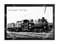 Historic Standard Logging Co. - Cochran, Oregon Train Postcard
