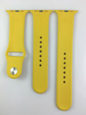 Original genuine Apple Watch Series 5 4 3 2 1 Sport Band 42mm 44mm strap Yellow