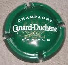 Capsule de Champagne Canard-Duchêne N°75c. Vert verso métal. cote 1.50 €