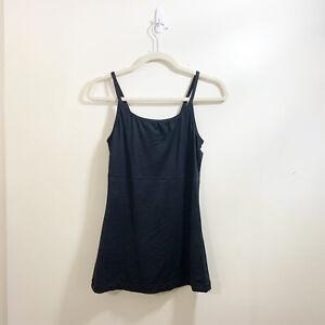 Vintage 2009 Maidenform Black Shape wear Camisole XL