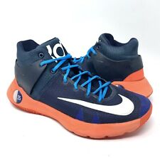 low priced 7c0bc eaf16 NIKE KD TREY 5 IV Men s Basketball Shoes 844571-416 Obsidian Blue Crimson  Sz 9
