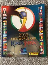 2002 Panini Men's World Cup Soccer Empty Album Japan Korea Rare!!