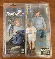 Friday the 13th -SDCC 2015 -Pamela & Jason Voorhees Action Figure Signed- Neca