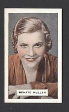 AUSTRALIAN LICORICE - BRITISH FILM STARS - RENATE MULLER