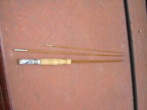 "Vintage Three Piece Umpqua Split Bamboo 8' 6"" Fly Fishing Rod Blank"