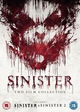 Sinister Double DVD NEW dvd (EO51929D)
