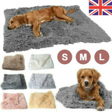 More details for extra large pet dog cat soft blanket pet soft fluffy blanket cosy warm throw mat