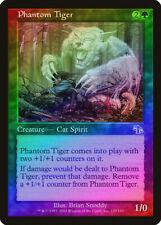 Phantom Tiger FOIL Judgment PLD Green Common MAGIC GATHERING CARD ABUGames