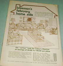 Loveman's Department Store Catalog - February Home Sale From 1978!