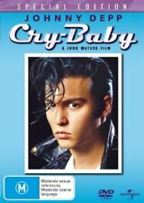 Cry Baby (1989) DVD- Johnny Depp, John Waters - Musical Comedy R4 New!