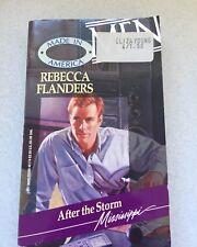 Rebecca Flanders  After The Storm 1994 Paperback