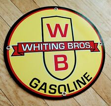 Whiting Brothers Gas Oil gasoline sign . free ship on any 8 signs