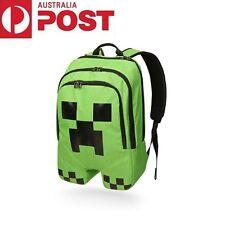 c04fe46707 Minecraft School Backpack Creeper Rucksack Waterproof Book Storage Bag  Sports