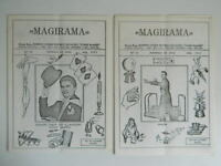 "Magirama 2 Revistas Roberto Conde Mochila Reis Cavalero"" Ramsés ""Brasil 1974"