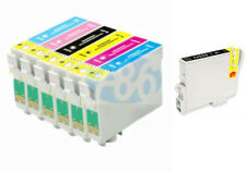 7 INKS FOR EPSON R200 R220 R300 R340 RX500 RX600 RX620