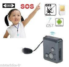 MINI TRACEUR GPS MICRO ESPION GSM  SOS TRACKER GPRS GPS NOIR