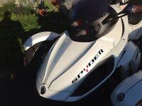 STICKER AUTOCOLLANT SPYDER CAN-AM 40 cm quad moto tuning