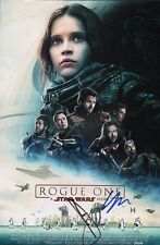 """DONNIE YEN +1 """"Rogue One:A Star Wars Story"""" Authentic Hand-Signed 11x17 Photo"""