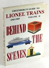 Greenberg's Guide to Lionel Trains 1945-1969 Volume II: Behind The Scenes