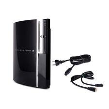 Playstation 3 Consola Fat 80Gb Modelo CECHL04 en Negro con Todos Cables