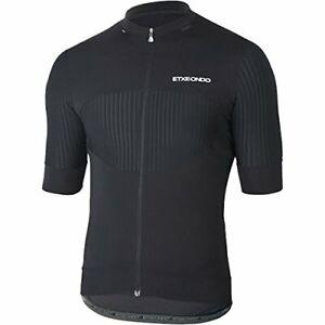 Etxeondo Men's Attaque Cycling Jersey Large Black