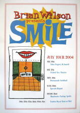 "BRIAN WILSON POSTER ""SMILE"" / BEACH BOYS"
