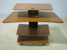 Aksel Kjersgaard of Denmark Teak Mid-Century Adjustable Desk On Casters