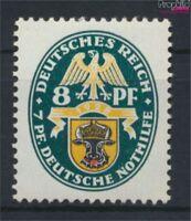 Deutsches Reich 426X, stehendes Wasserzeichen mit Falz 1928 Wappen (9222841