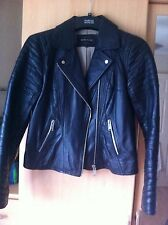 River Island Women's Leather Zip Biker Coats & Jackets