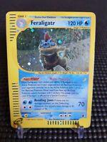 2002 Feraligatr Holofoil Rare Pokemon Card Expedition 12/165 MP Vintage