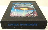 SPACE INVADERS video game ATARI 2600 cartridge TESTED vintage