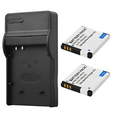 2x NB-8L Battery + Charger For Canon PowerShot A3300 A3200 A3100 A2200 A1200 IS