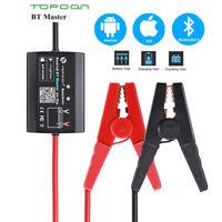 TOPDON BT Master Bluetooth 4.0 Wireless 12V Battery Tester Analyzer Digital Car