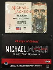 MICHAEL JACKSON DANGEROUS TICKET.