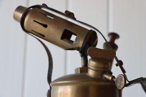 Restored Antique Brass Flame Thrower