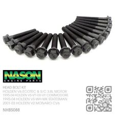 NASON HEAD BOLT KIT V6 ECOTEC 3.8L MOTOR [HOLDEN VS-VT-VU-VX-VY COMMODORE/UTE]