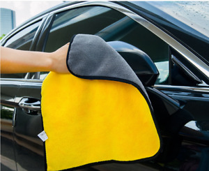 2x Large Super Absorbent Car Wash Microfiber Towel Cloth Car Cleaning Drying