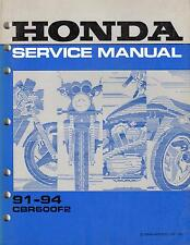 1991-1994 HONDA MOTORCYCLE CBR600F2 SERVICE MANUAL (438)