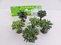 6 Büsche grün mit  Fuß Höhe  ca. 1,5 cm Eisenbahn Modellbau Jordan 9  45204 B