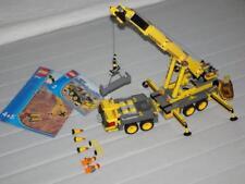 Lego Sammlung City 7249 Site Crane Mega Kran alle Figuren Anleitung Baustelle kg