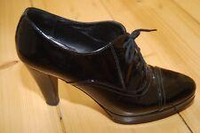 Super schicke Konstantin Starke Pumps Ankle Boots schwarz Lackleder Gr 36,5