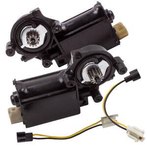 1 Pair Power Window Regulator Motor For Chevrolet Camaro Trucks C10 Pickup 77-81