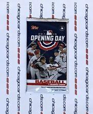 4 2017 Topps Heritage elevado número exclusivo de béisbol Sellado Paquetes de grasa Jumbo
