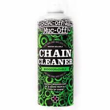 MUC-OFF Chain Cleaner 400ml Spray Can Biodegradable MTB Road Bike Dirt Moto MX