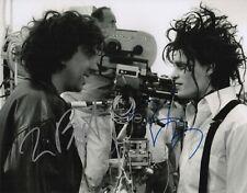 Tim Burton & Johnny Depp Signed Edward Scissorhands 11x14 Photo COA